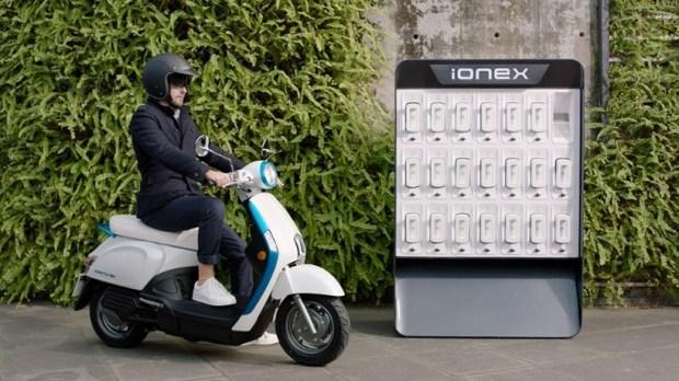 Об электроскутере Kymco Ionex и экосистеме зарядных подстанций