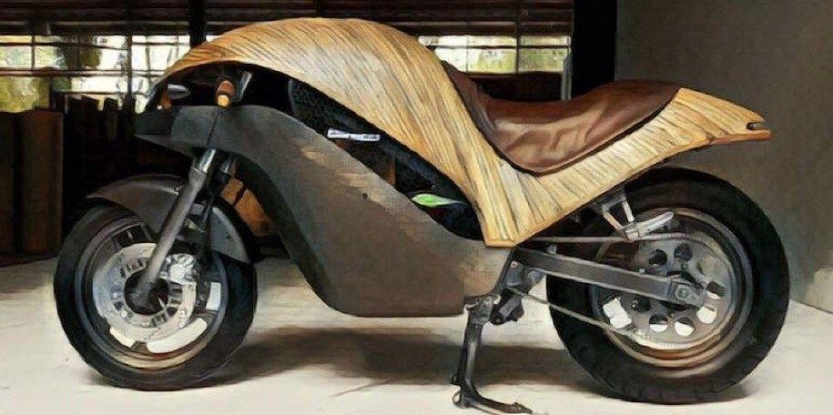 На Филиппинах создали электробайк из бамбука