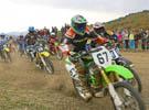 Юный мотоциклист Евгений Бородкин из Ачинска выиграл мотокросс
