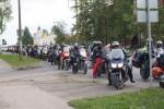 Участники Катыньского мотопробега проехались по Даугавпилсу