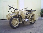 Какие использовались мотоциклы Вермахта
