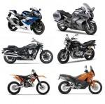 Какие бывают мотоциклы