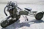 Мотоцикл на гусеничном ходу – классика вечна