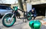 Покраска мотоцикла своими руками