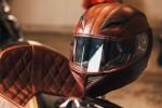 Кожаный шлем от американских мастеров