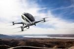 Компания Ehang создает первый квадрокоптер для перевозки человека