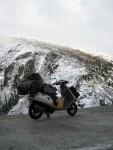 Одинокое путешествие на скутере