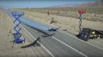 Уникальный трюк с мотоциклом, канатоходцем и самолетом