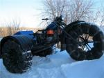 Как сделать из мотоцикла вездеход