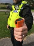 Британская полиция будет помечать угонщиков невидимым спреем