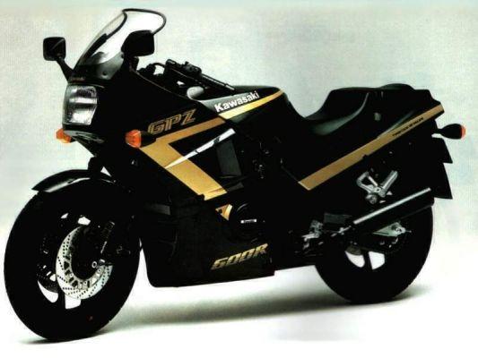 Фотография GPZ 600 R 1990