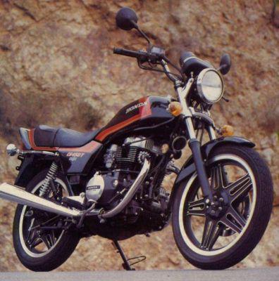 Фотография CB 450T 1982