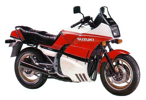 Фотография GSX750EF (1985)