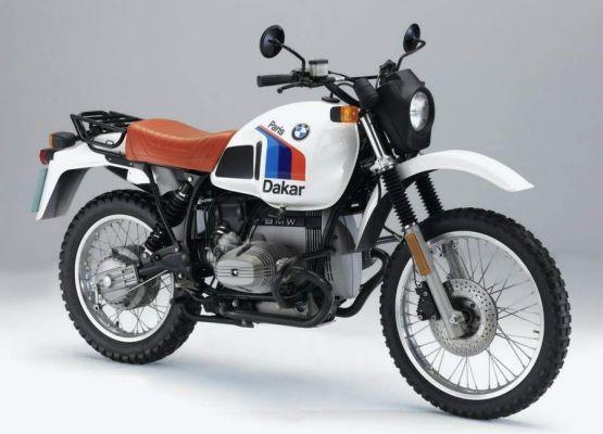 Фотография R80GS Paris Dakar (1984)