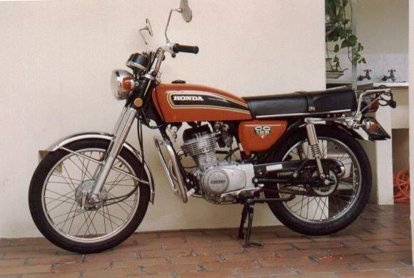 Фотография CG125 (1977)