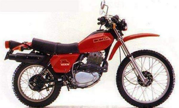 Фотография XL500S (1978)