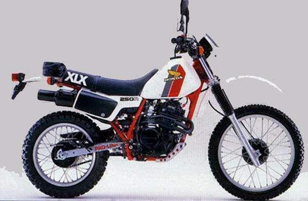 Фотография XLX250R (1983)