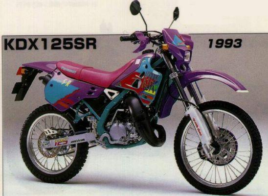Фотография KDX 125SR (1993)