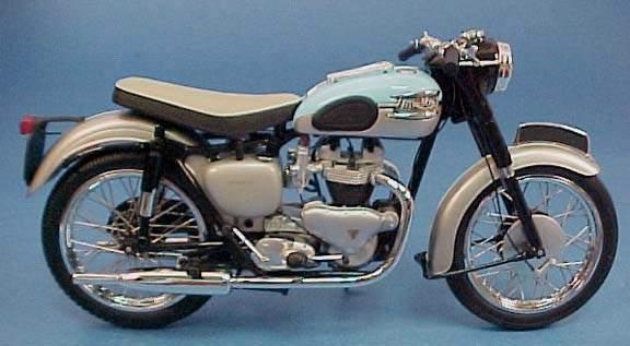 Фотография T120 Bonneville 650 (1959)