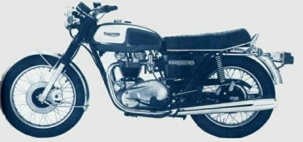 Фотография Bonneville 650 T120V (1974)