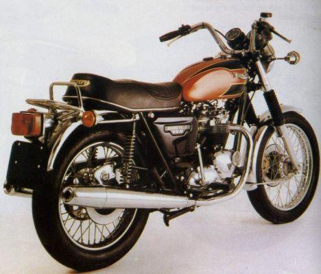 Фотография Bonneville 750 T140E America (1979)