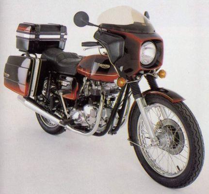 Фотография Bonneville 750 T140E Special Edition (1980)