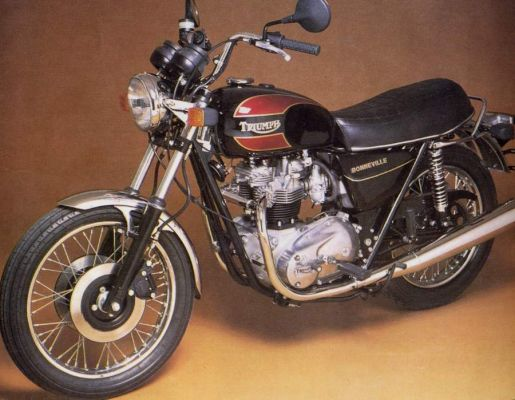 Фотография Bonneville 750 T140E Final Edition (1982)