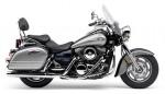 Информация по эксплуатации, максимальная скорость, расход топлива, фото и видео мотоциклов Vulcan 1600 Nomad