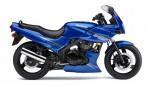 Информация по эксплуатации, максимальная скорость, расход топлива, фото и видео мотоциклов Ninja 500R 2007
