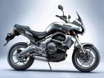 Информация по эксплуатации, максимальная скорость, расход топлива, фото и видео мотоциклов KLE 650 2007