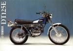 Мотоцикл DT125 (1974): Эксплуатация, руководство, цены, стоимость и расход топлива