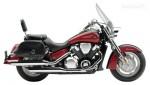 Информация по эксплуатации, максимальная скорость, расход топлива, фото и видео мотоциклов VTX-1800T 2007