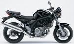Информация по эксплуатации, максимальная скорость, расход топлива, фото и видео мотоциклов SV650A (2009)