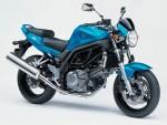 Информация по эксплуатации, максимальная скорость, расход топлива, фото и видео мотоциклов SV650 (2008)