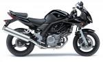 Информация по эксплуатации, максимальная скорость, расход топлива, фото и видео мотоциклов SV650S (2008)