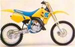 Мотоцикл RM 125 (1990): Эксплуатация, руководство, цены, стоимость и расход топлива