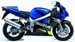 Информация по эксплуатации, максимальная скорость, расход топлива, фото и видео мотоциклов GSX-R600 (2001)