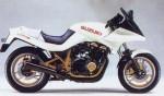 Информация по эксплуатации, максимальная скорость, расход топлива, фото и видео мотоциклов GSX750S Katana (1984)