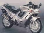 Информация по эксплуатации, максимальная скорость, расход топлива, фото и видео мотоциклов GSX750F (1990)