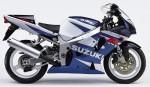 Информация по эксплуатации, максимальная скорость, расход топлива, фото и видео мотоциклов GSX-R750 (2001)