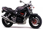 Информация по эксплуатации, максимальная скорость, расход топлива, фото и видео мотоциклов GSF400 Bandit V (1991)