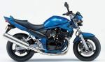 Информация по эксплуатации, максимальная скорость, расход топлива, фото и видео мотоциклов GSF650N Bandit (2005)