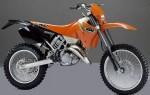 Информация по эксплуатации, максимальная скорость, расход топлива, фото и видео мотоциклов 125EXC (2000)