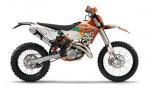Информация по эксплуатации, максимальная скорость, расход топлива, фото и видео мотоциклов 125EXC Sixdays (2011)