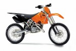 Информация по эксплуатации, максимальная скорость, расход топлива, фото и видео мотоциклов 125SX (2003)