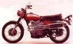 Информация по эксплуатации, максимальная скорость, расход топлива, фото и видео мотоциклов CL450 Scrambler (1968)