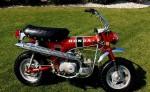 Информация по эксплуатации, максимальная скорость, расход топлива, фото и видео мотоциклов CT70 (1969)