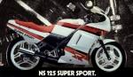 Информация по эксплуатации, максимальная скорость, расход топлива, фото и видео мотоциклов NS125R (1987)