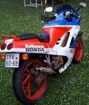 Информация по эксплуатации, максимальная скорость, расход топлива, фото и видео мотоциклов NSR125R-SP Rothmans (1991)