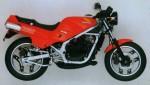 Информация по эксплуатации, максимальная скорость, расход топлива, фото и видео мотоциклов NS250R Naked (1985)